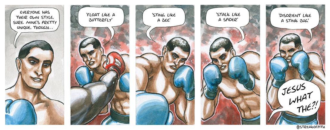 2nd December 2016 - Boxer